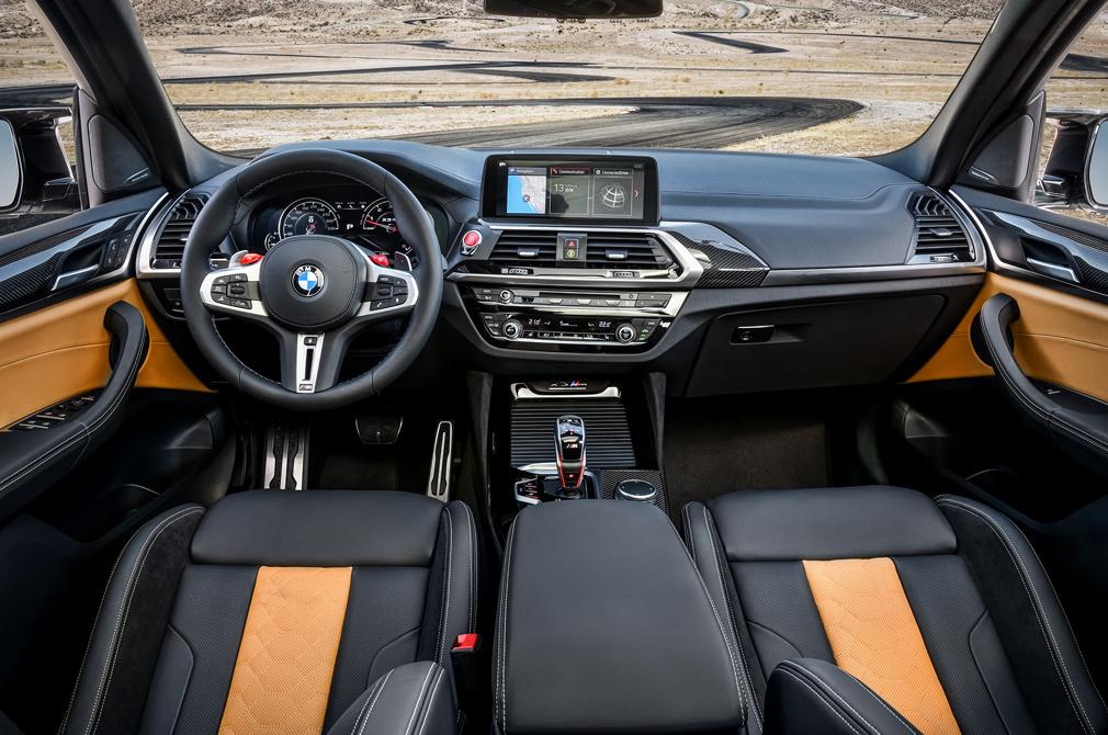 BMW X3 M Competition cockpit