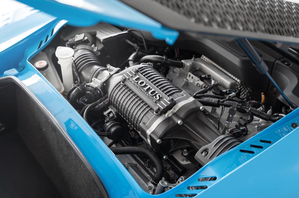 Lotus Exige Sport 350 engine