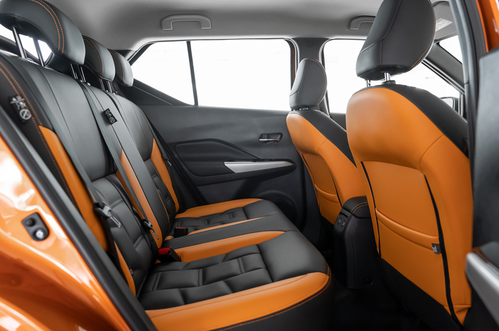 Nissan Kicks e-POWER backseat