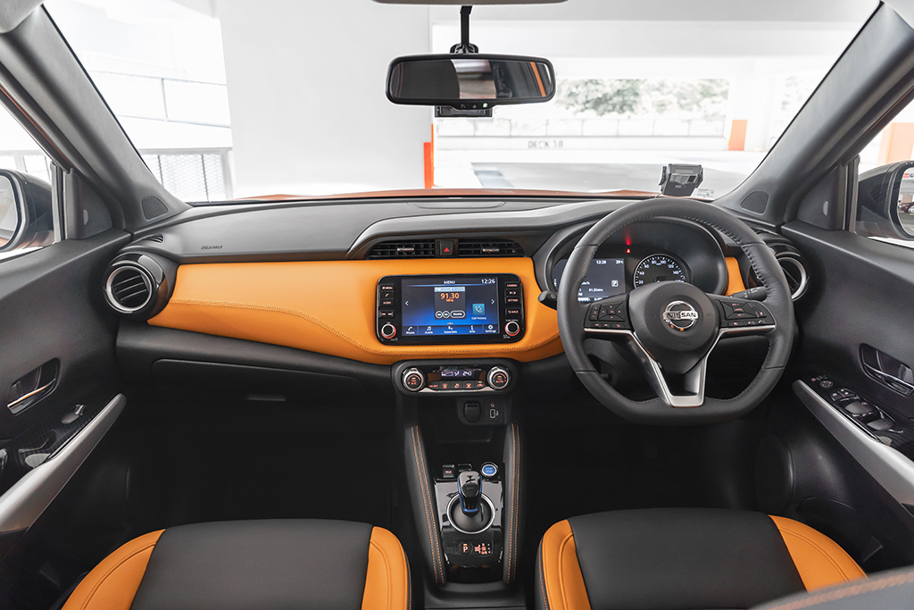 Nissan Kicks e-POWER cockpit