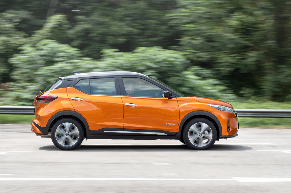 Nissan Kicks e-POWER panning