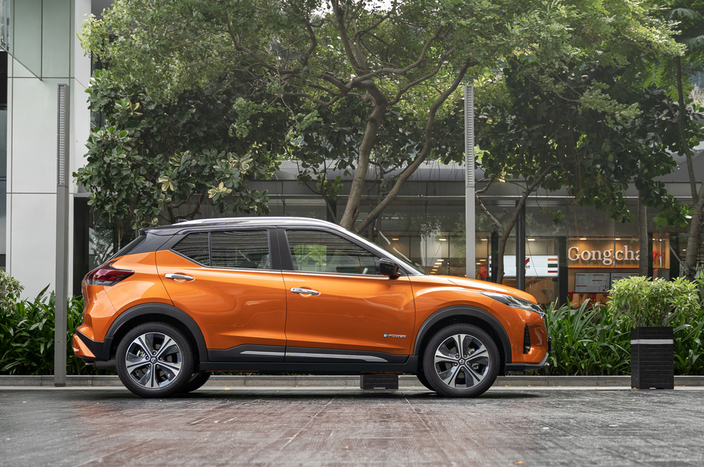 Nissan Kicks e-POWER profile
