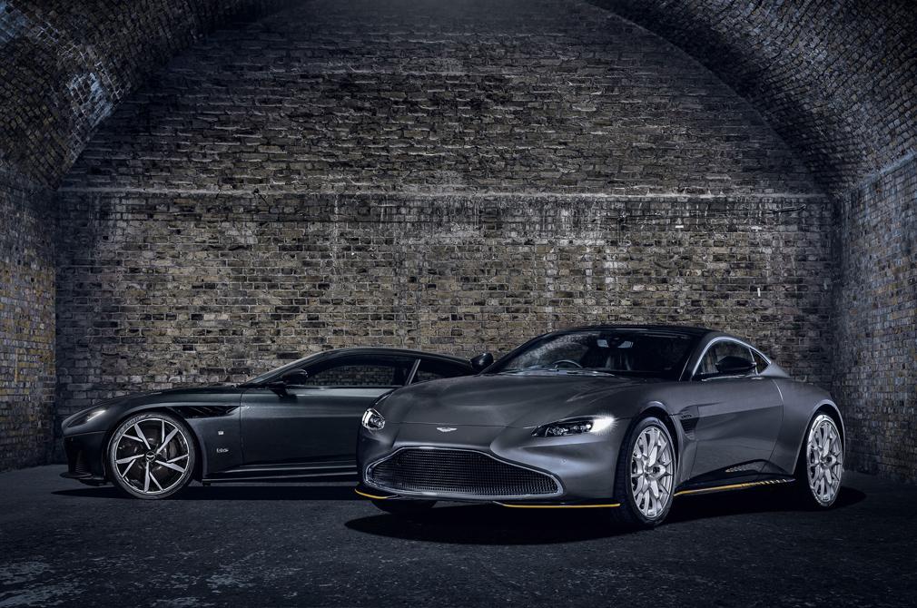 Aston Martin DBS Superleggera and Vantage 007 Edition