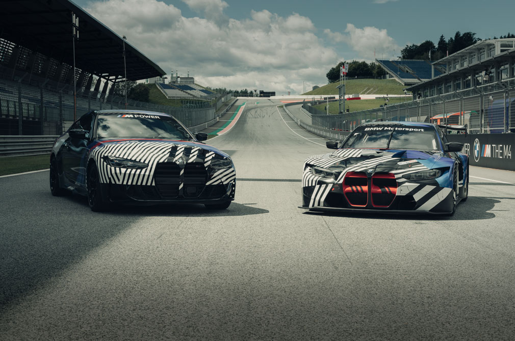 BMW M4 Coupe and M4 GT3 concepts