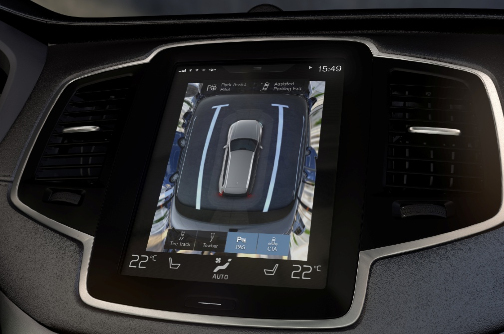 driving technology bird's-eye view monitor