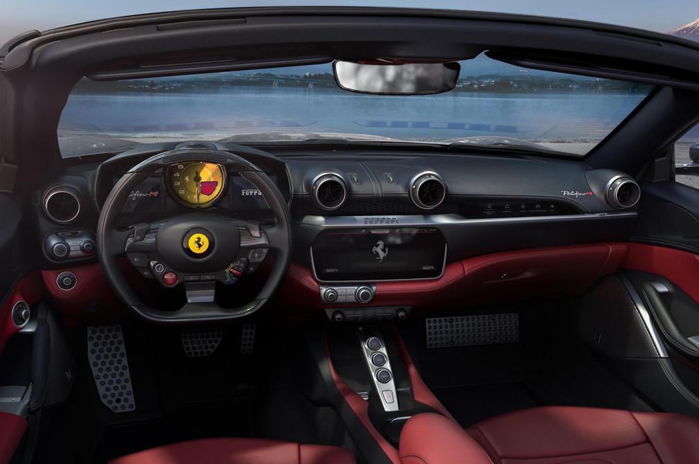 Ferrari Portofino M cockpit