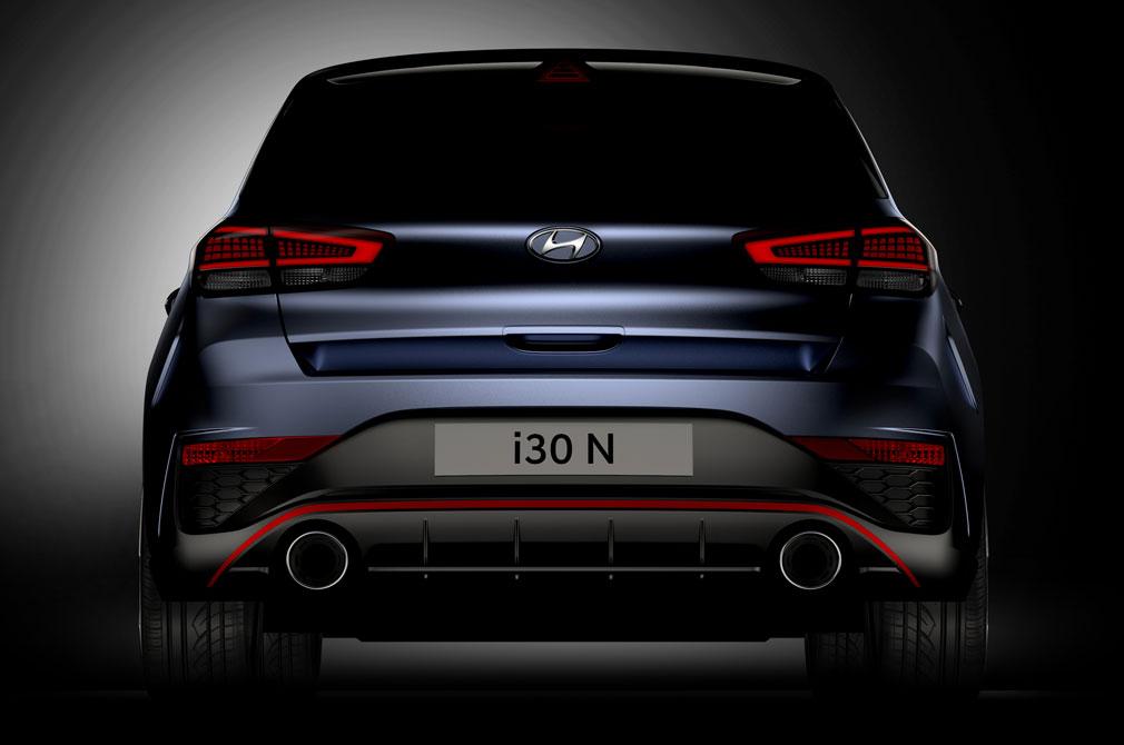 Hyundai i30 N rear