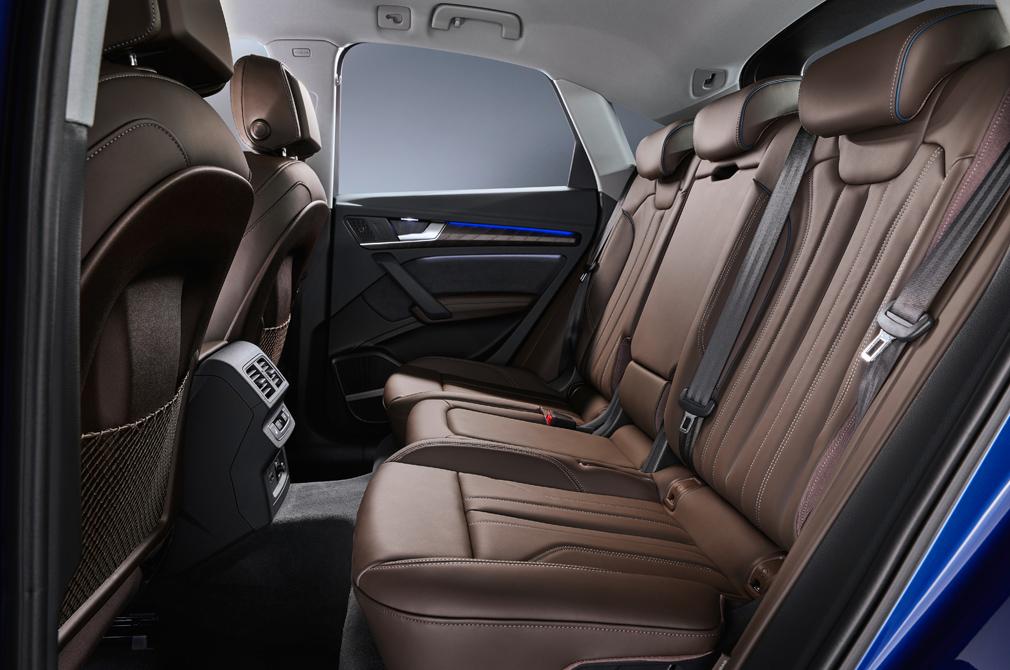 Audi Q5 Sportback backseat