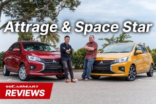 Mitsubishi Attrage and Space Star