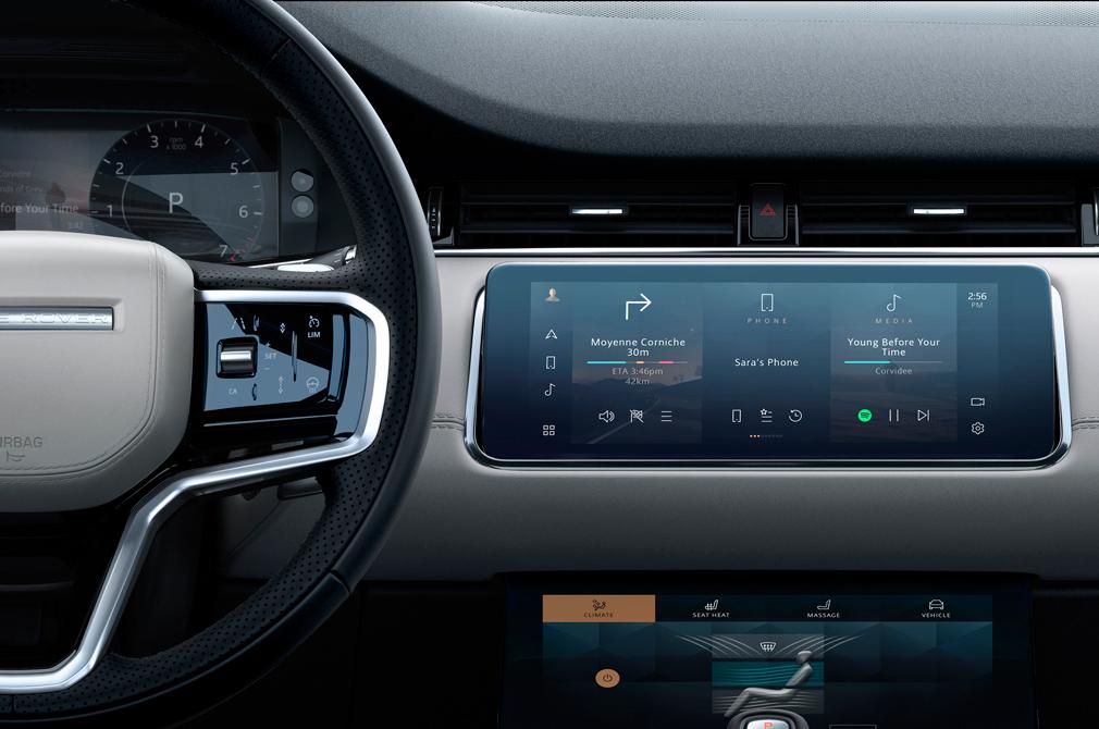 Range Rover Evoque Autobiography dashboard