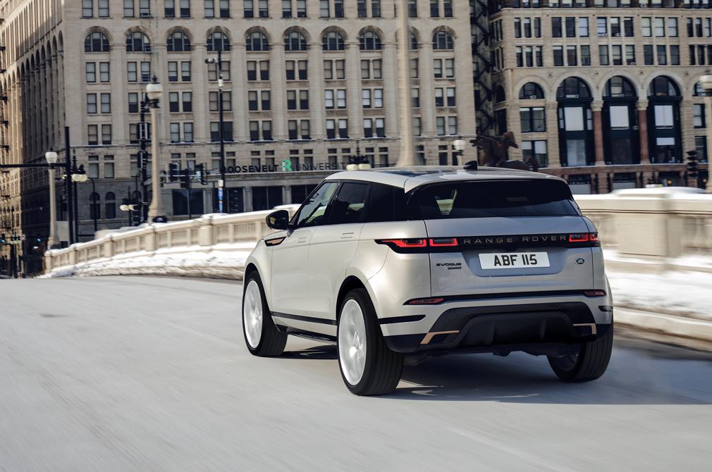 Range Rover Evoque Autobiography rear action