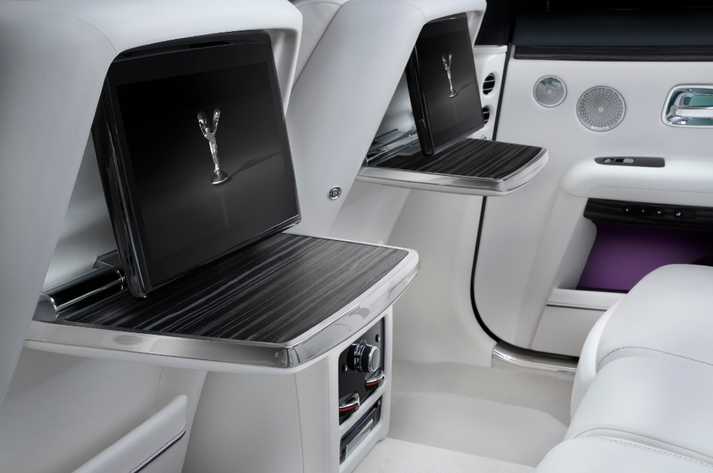 Rolls-Royce Ghost backseat