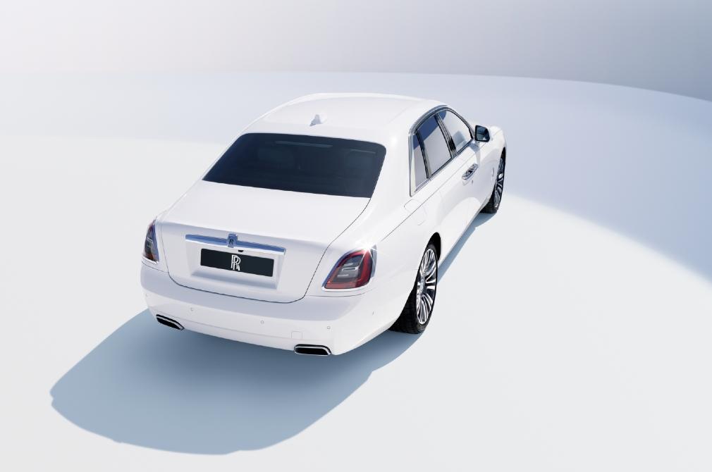 Rolls-Royce Ghost rear angle