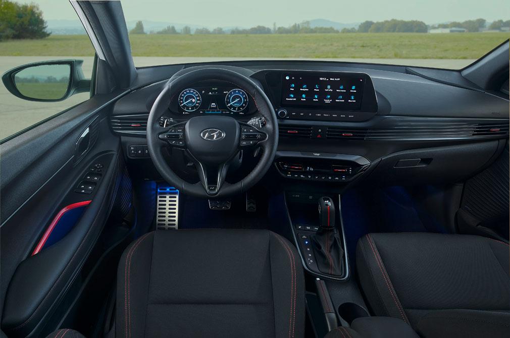 Hyundai i20 N Line cockpit