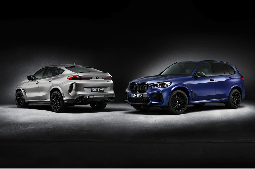 BMW X5 Competition First Edition and BMW X6 Competition First Edition