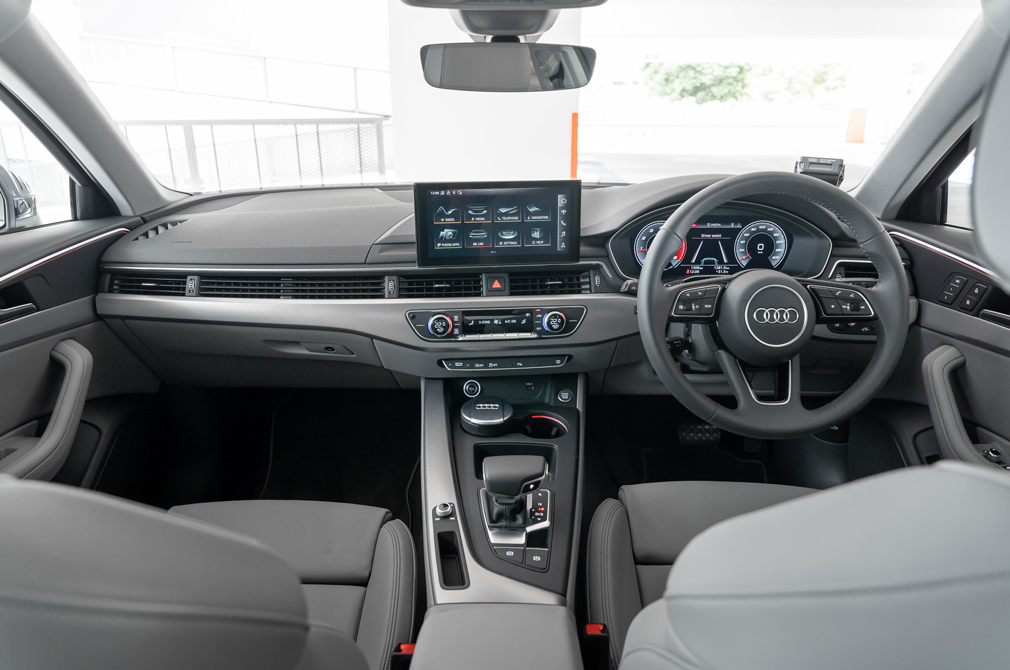 audi a4 advance cockpit