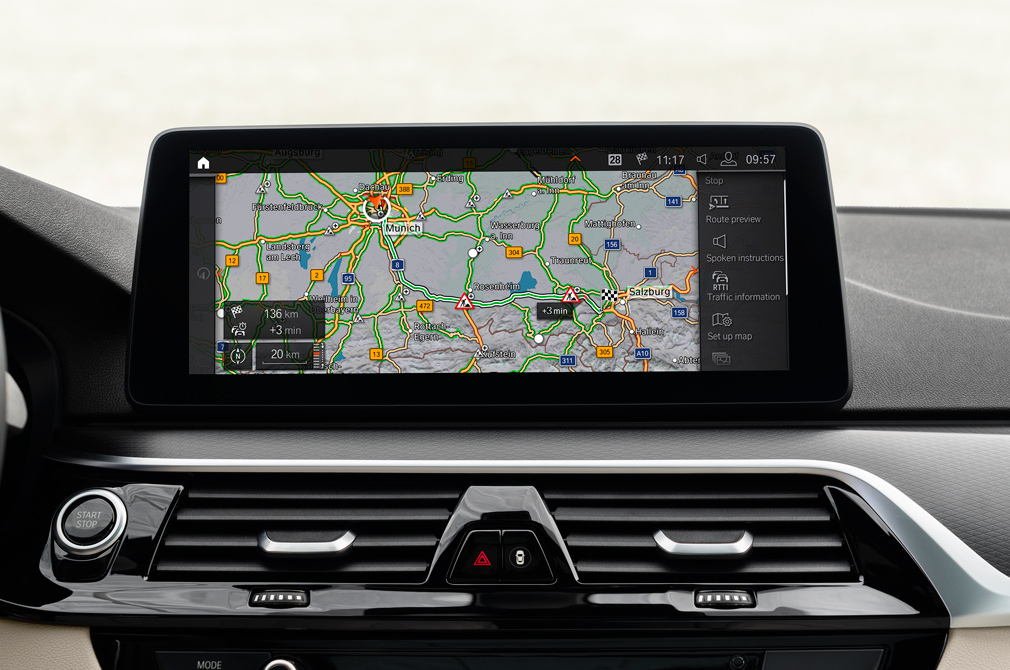 bmw 5 series navigation