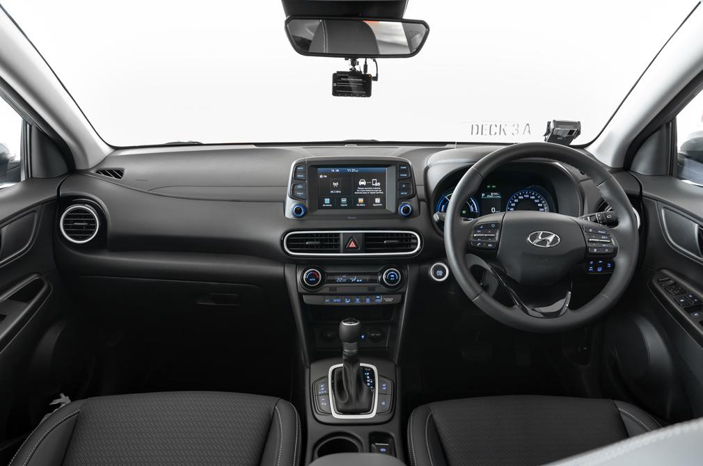 Hyundai Kona Hybrid cockpit