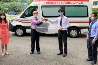 Eurokars Group donates ambulance to TTSH