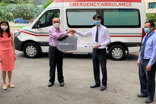 Eurokars Group donates ambulance to TTSH