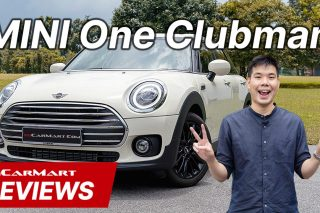 MINI One Clubman sgcarmart video review