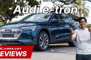 audi e-tron 55 video review sgcarmart