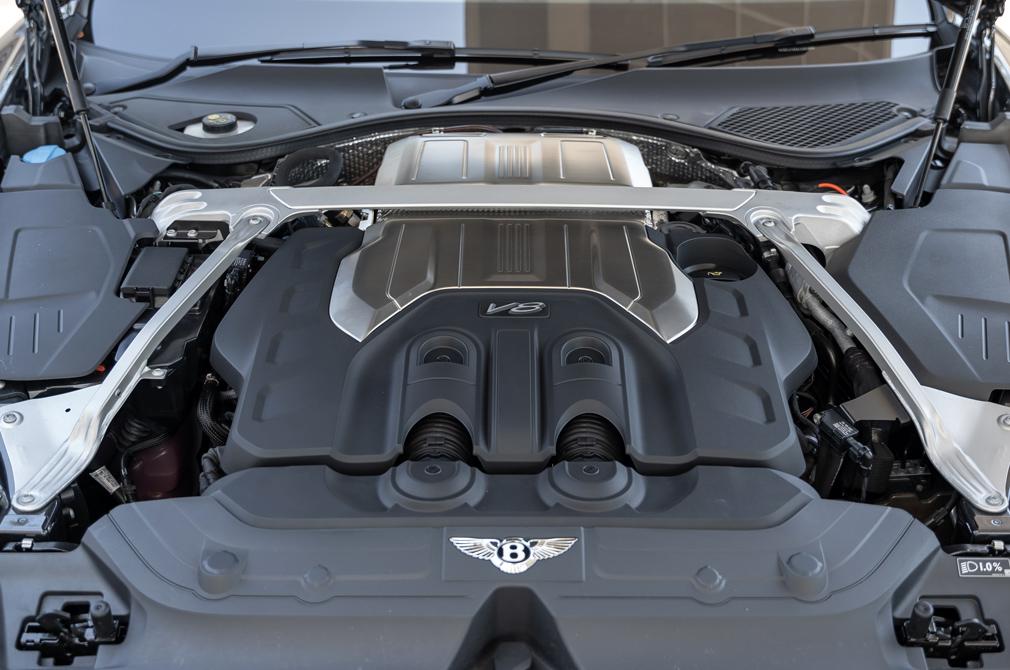 bentley continental gt v8 engine