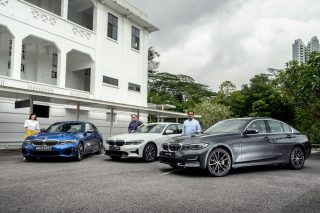 bmw 3 series power of three