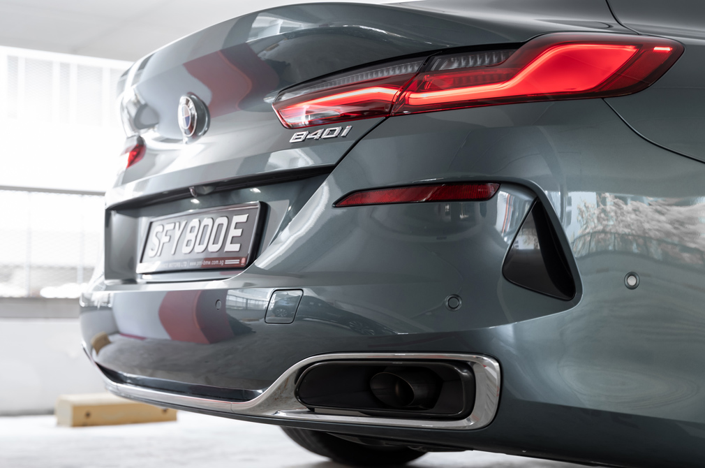 bmw 840i gran coupe tail-light
