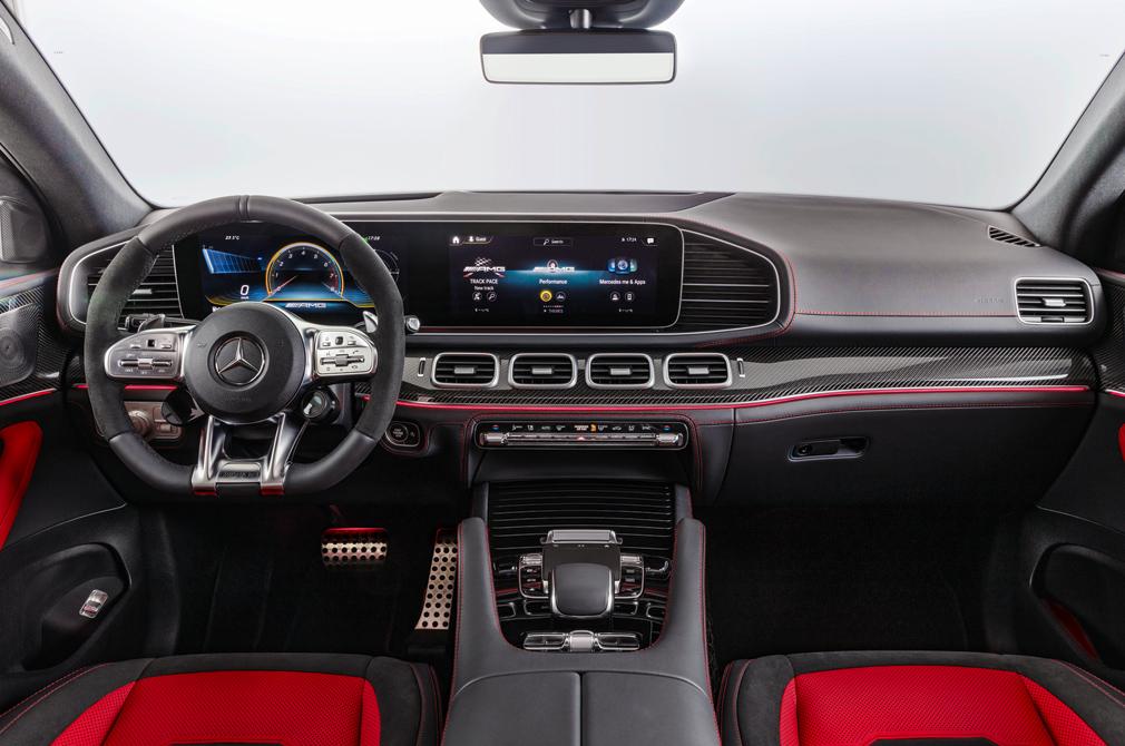 mercedes-benz gle coupe cockpit