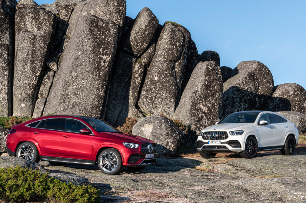 mercedes-benz gle coupe variants