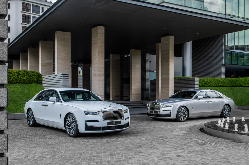 Rolls-Royce Ghost and Ghost Extended