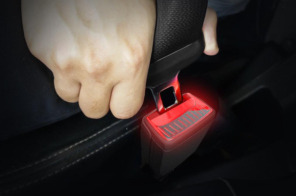 Skoda smart seatbelt buckle