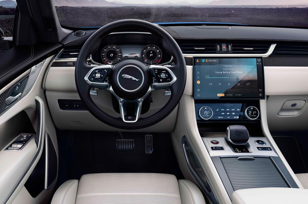 jaguar f-pace svr cockpit