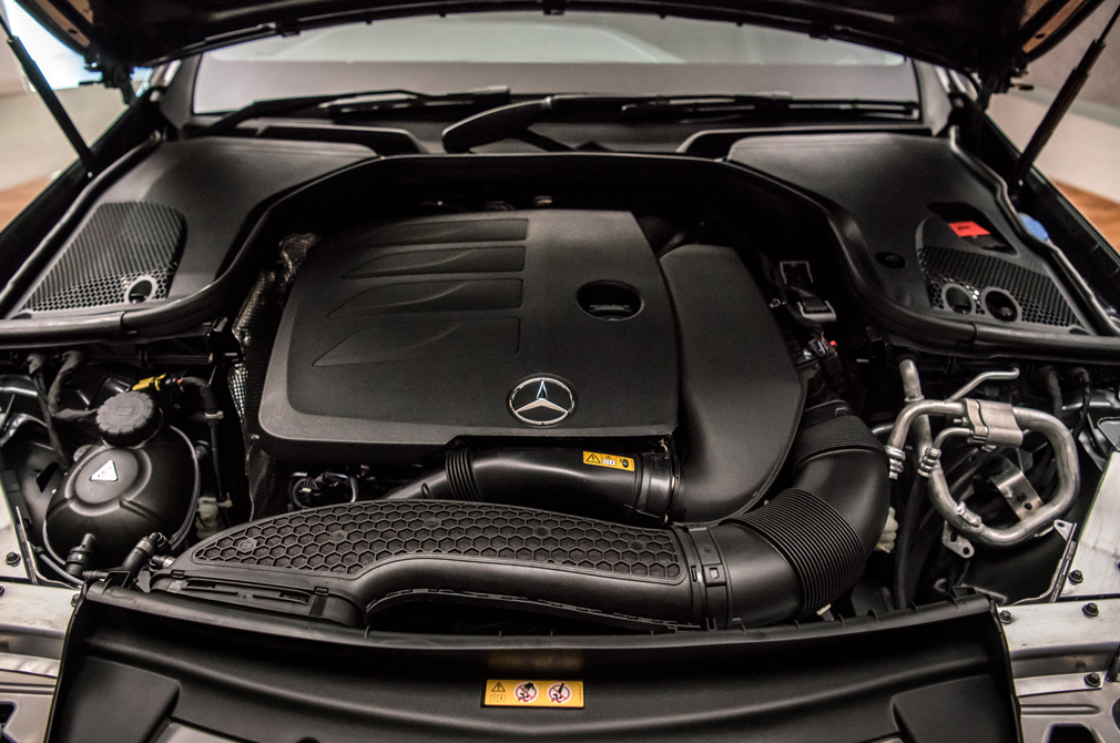 mercedes-benz e-class e200 engine