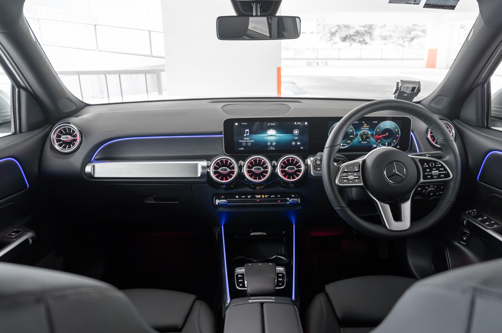 Mercedes-Benz GLB cockpit