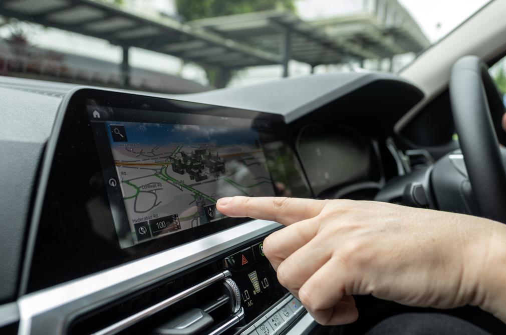 BMW 318i navigation