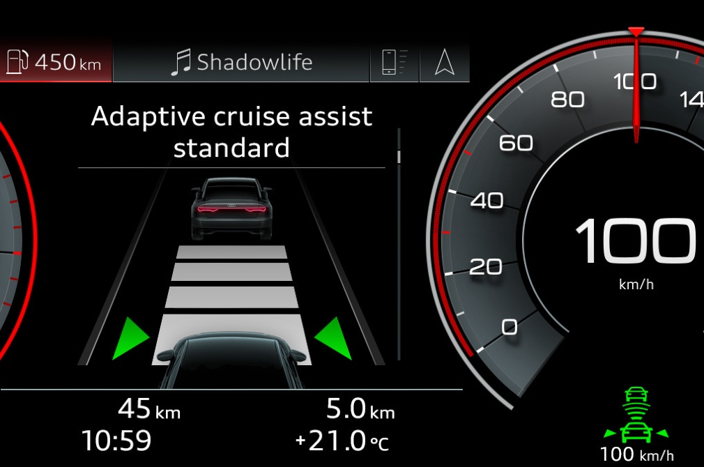 car safety features adaptive cruise control