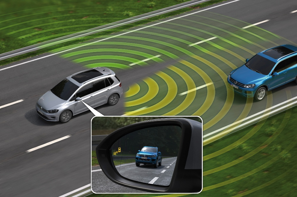 car safety features blind spot monitor
