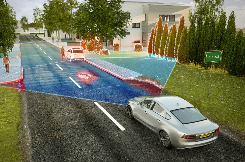 6 car safety features (photo: Continental AG)