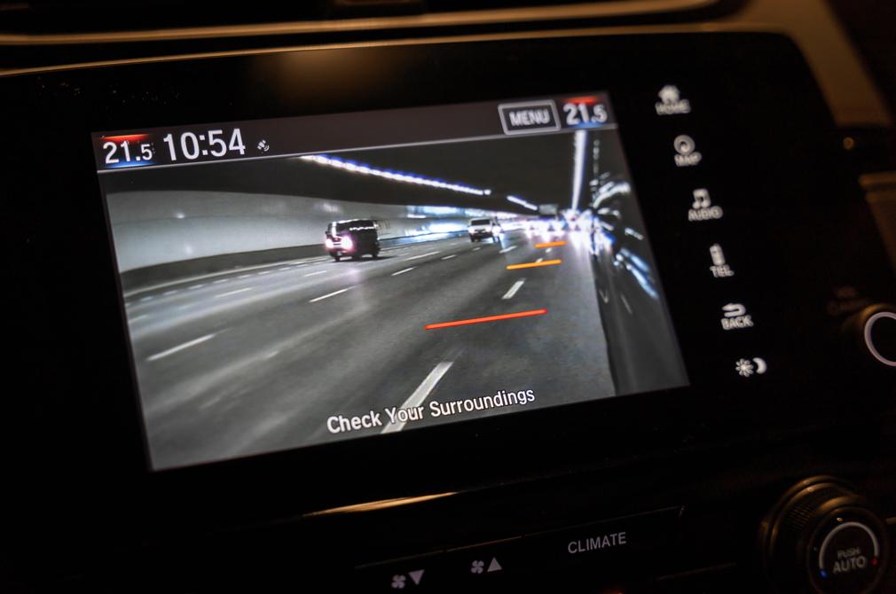 Honda CR-V LaneWatch