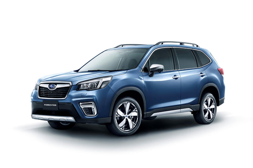 Subaru Forester Driver Monitoring System