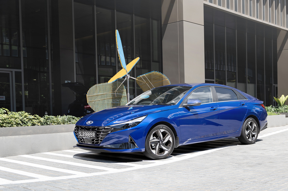 Hyundai Avante Torque Honours Editor's Choice