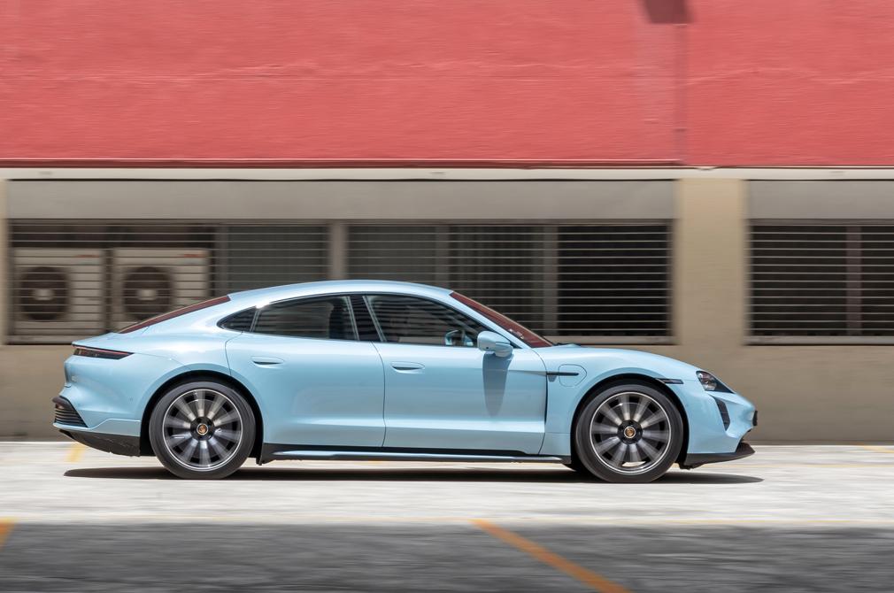 Porsche Taycan Torque Honours Best Electric Car