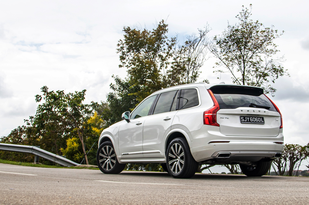 volvo xc90 recharge rear