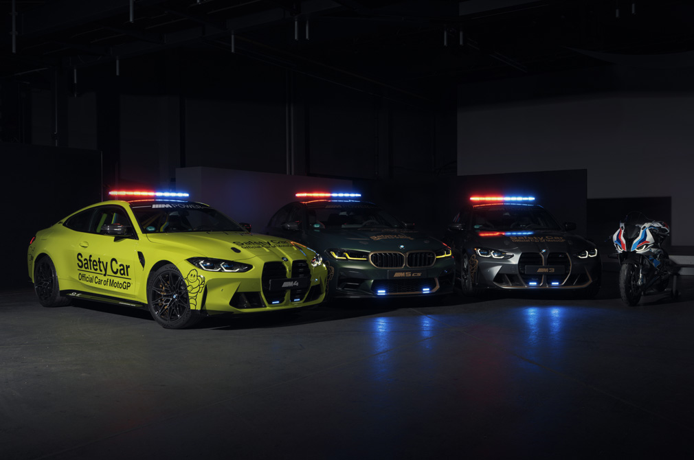 BMW safety car fleet.