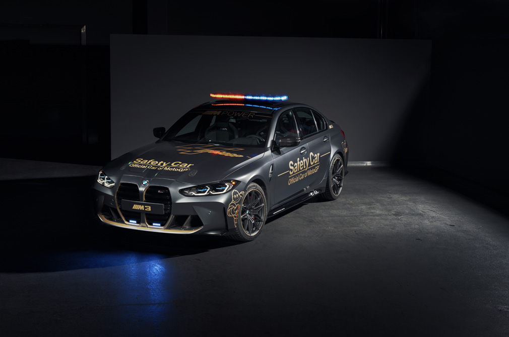 BMW M3 safety car