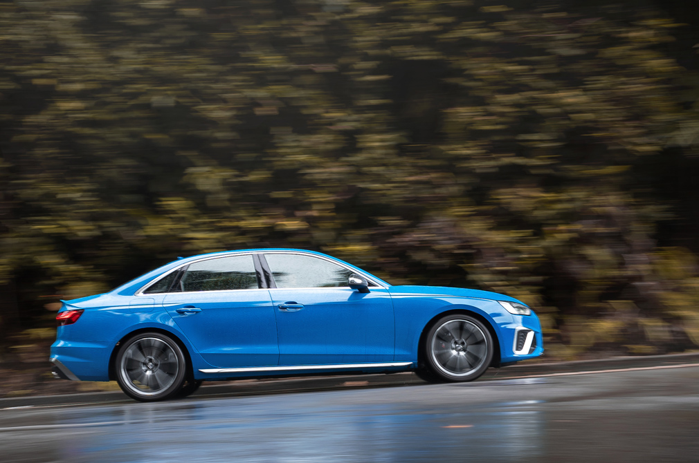 Audi S4 panning