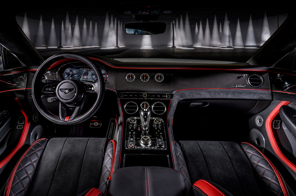 Bentley Continental GT Speed cockpit