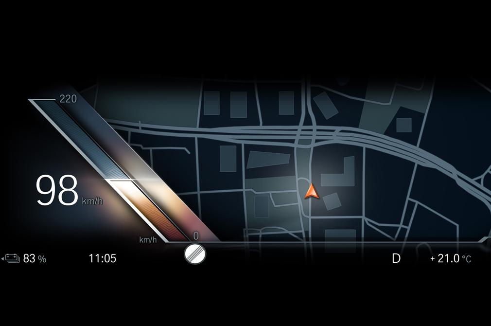 BMW iDrive navigation